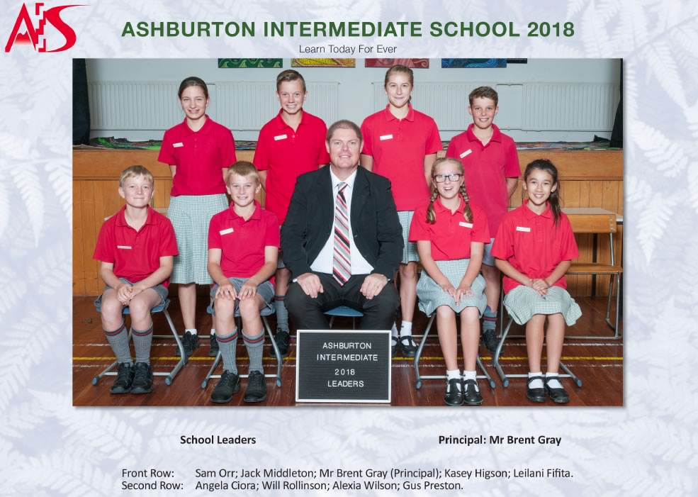 School Leaders Ashburton Intermediate School
